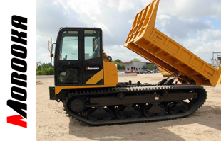 Morooka used rubber track carriers