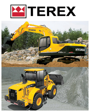 Terex used long reach excavators, wheel loaders & excavators