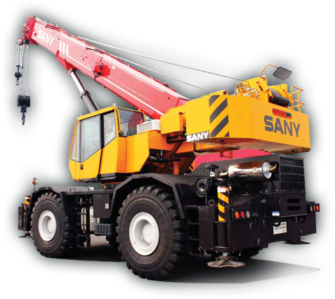 Sany Rough Terrain Crane